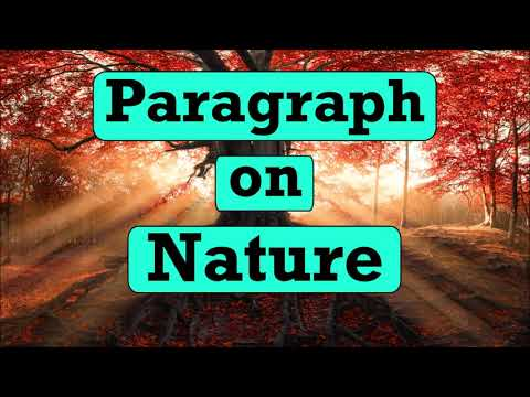 Paragraph about nature — paragraph on nature 1 (100 words) nature ...